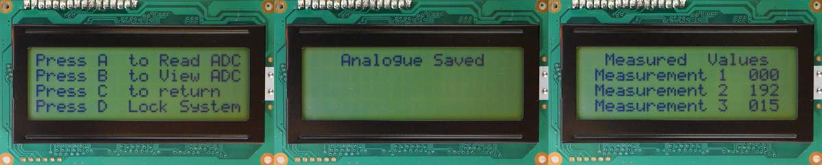 Character LCD Example