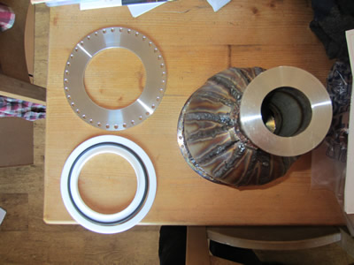 Nuclear Fusor - View Port Flange Seal