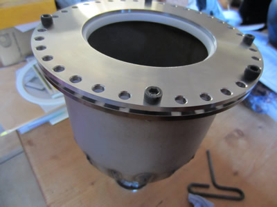 Nuclear Fusor - View Port Flange