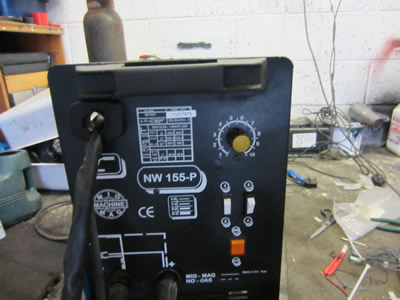 MIG welder feed control board replacement