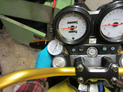 1998 Hornet Injection Project - Turbo Oil Pressure Gauge