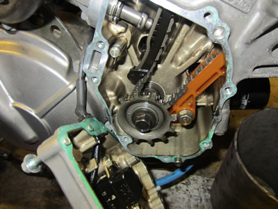 1998 Hornet Injection Project - Timing Sensor and Disc