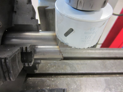 Hole Saw Notch Stainless