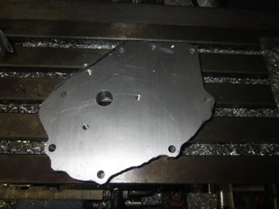1998 Hornet Injection Project - Timing Case Construction