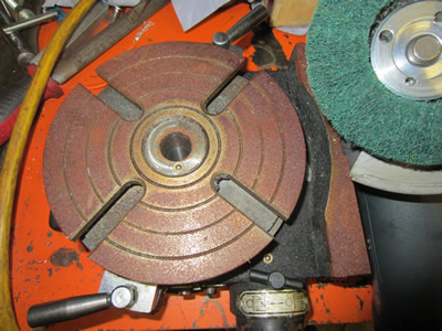 Rusty Rotary Table